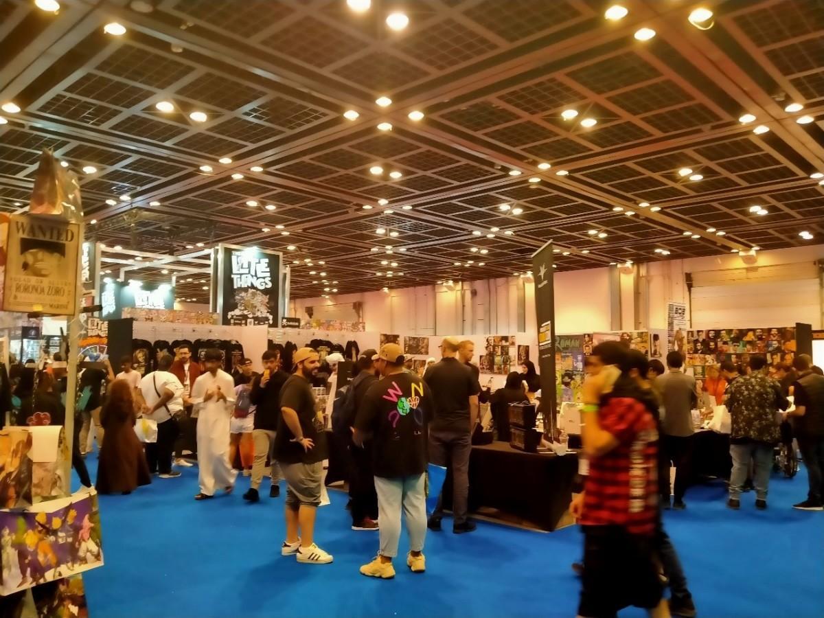 Comic con(コミコン)会場内の様子