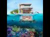 ドバイにある人工島に豪華な海中ヴィラ建設