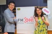 FM OH!で万博誘致応援番組開始 DJは浅越ゴエさん・犬塚あさなさん
