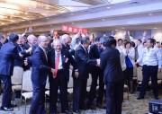 2025年万博は大阪・夢洲に決定 ビューイング会に関係者ら500人