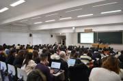 近畿大学で大阪万博テーマに講演会 関西経済連合会専務理事が登壇、期待語る