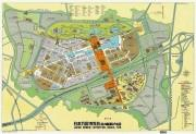 1970年万博の「案内地図」復刻 一部に傷・汚損、当時の興奮そのままに