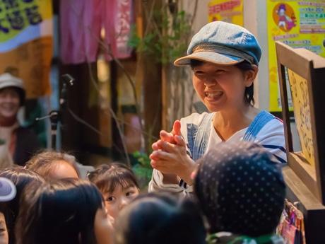 東京都公認ヘブンアーティストの「ちっちさん」