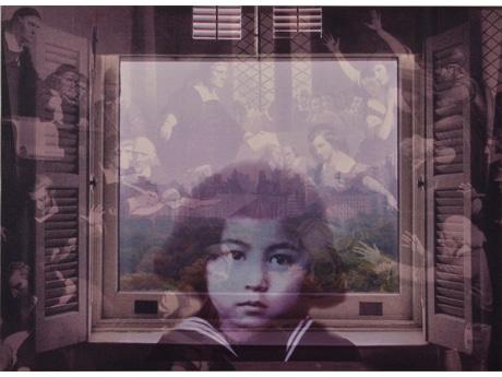 オノ・ヨーコ《FROM MY WINDOW: Salem 1692》2002年、顔料/カンヴァス、個人蔵 (C)YOKO ONO 2015
