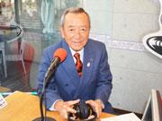 江東区長が新春ラジオ出演 五輪へ向けて区の「魅」力発信