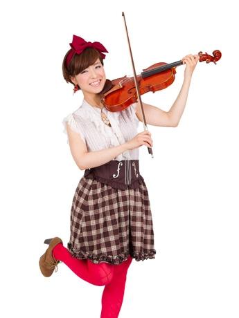バイオリニスト・シンガーソングライターの羽純-hasumi-(はすみ)さん