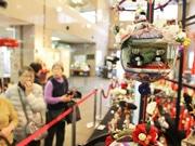 東大島で「おひなさま展」 日本の伝統伝え、子どもの成長願う
