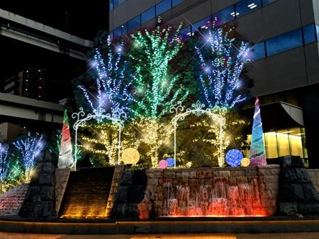 今年のクリスマスイルミネーションのイメージ