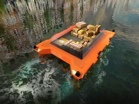 オランダでプロジェクトが進められているロボット船「ROBOAT」