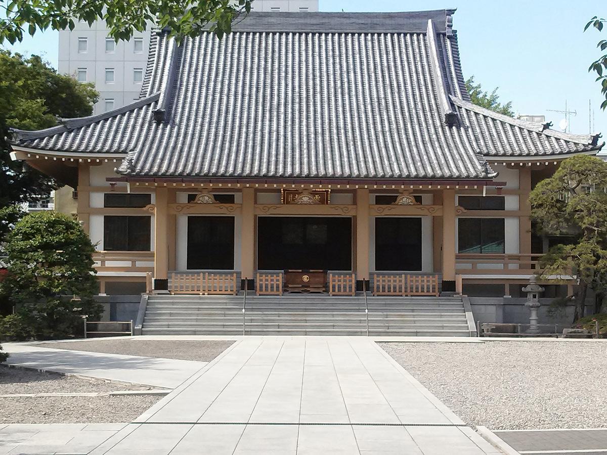 深川まち歩きイベント訪問予定地の霊厳寺