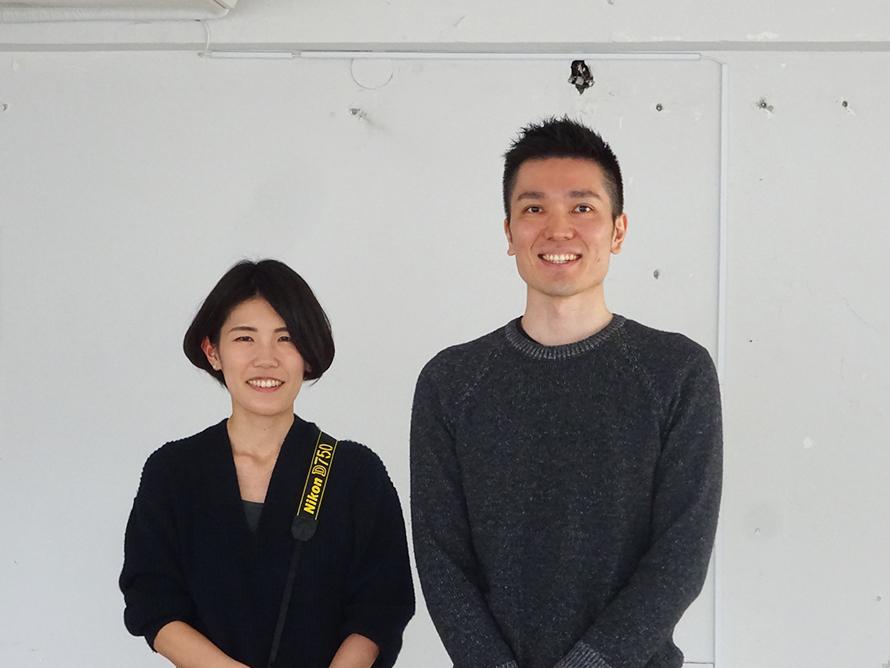 清澄白河写真室の林田真季さん(左)と調大輔さん(右)