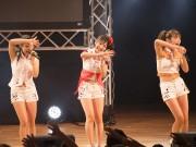 福井・勝山でアイドルフェス-福井出身の武田舞彩さんも熱唱