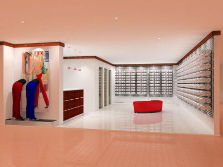 「エルパ」2階にオープンする同店の完成予想図