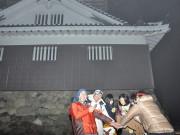 福井・越前大野城で「バルス祭り」 地元有志、「天空の城ラピュタ」放映に合わせ
