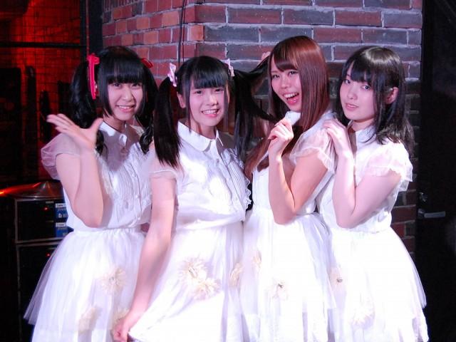 同グループのメンバー。左から、佐藤さん、星月さん、真保さん、那月さん