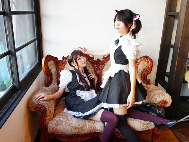 「自分の企画でみんなが笑顔になるのがうれしい」と美千子さん(左)