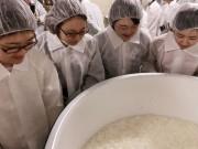 福井で勉強会「黒龍ができるまで」 オリジナル大吟醸造りに向け、学生ら参加