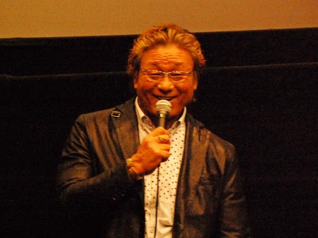「ジャンボ鶴田さんに勝ち、三冠ヘビー級王座を獲得した試合が思い出深い」と天龍さん