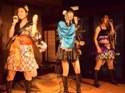 和風ロックユニット「KUNO1」福井初ライブ 「地方創生」掲げ、海外進出も