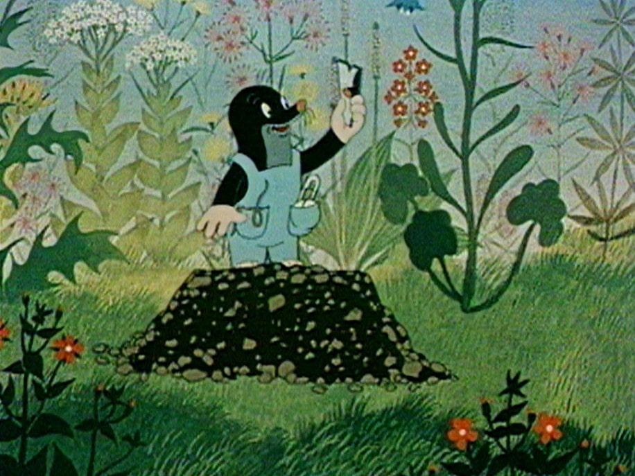上映作品より「もぐらくんとズボン」 © Země pohádek,a.s. ,Zdeněk Miler, Little Mole a.s..