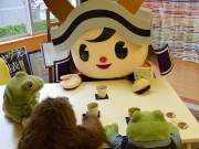 福井市宣伝隊長「朝倉ゆめまる」が企業訪問キャンペーン グランプリ投票呼び掛け