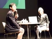 福井で岩下みどりさんトーク 「相棒」などタイトルバック制作秘話明かす