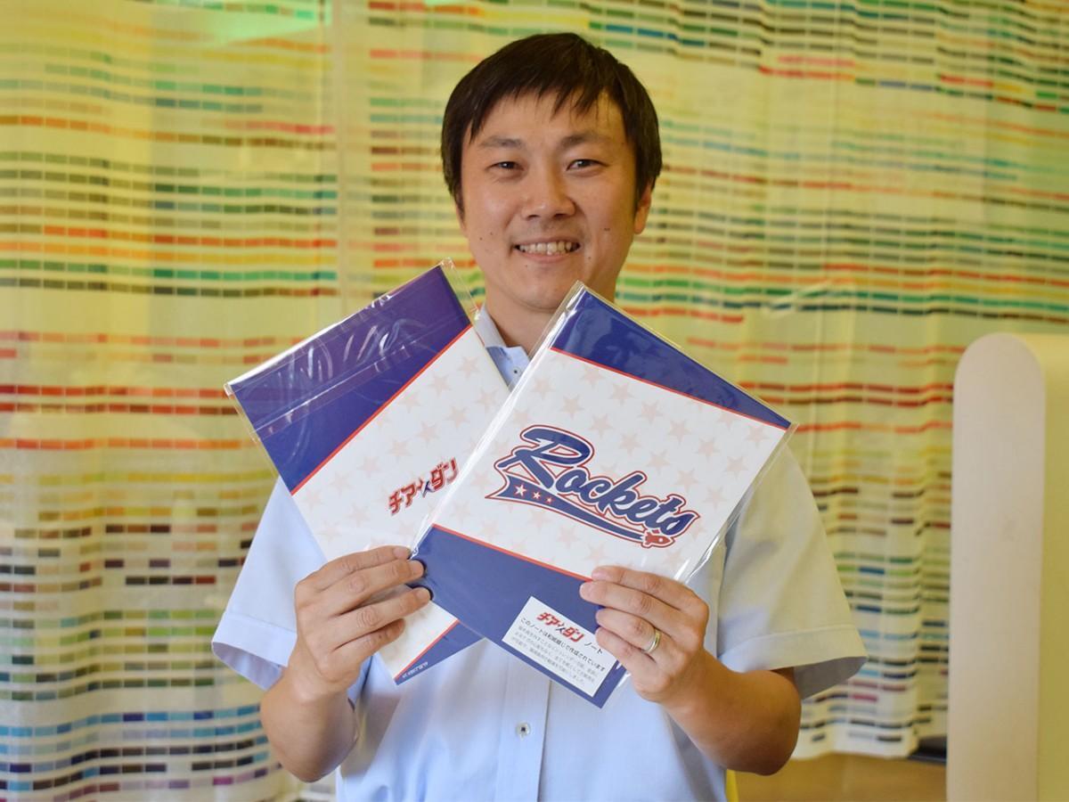 「和紙とじ」の普及にも期待を寄せる、国府印刷社の有定耕平専務