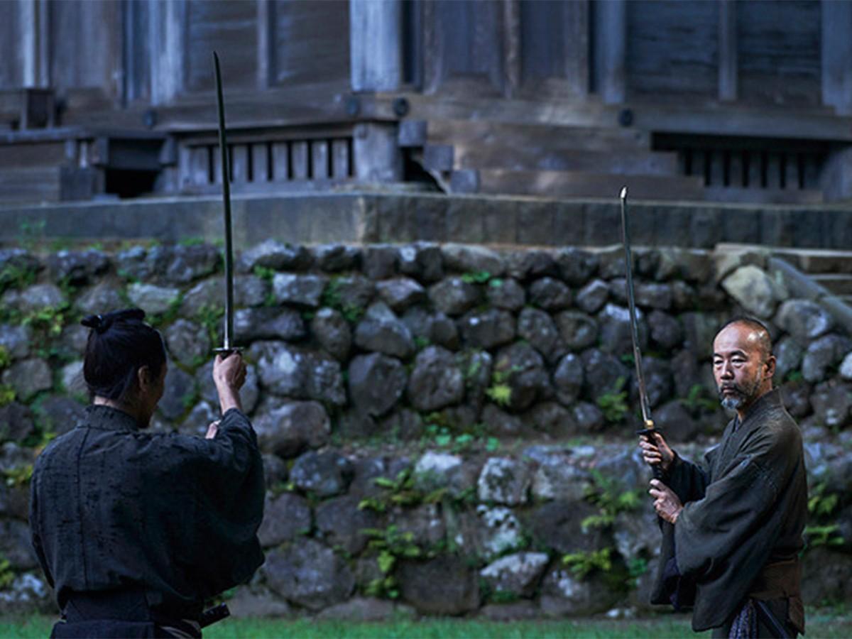 「斬、」の一場面。鑑賞区分「PG12」で上映される © SHINYA TSUKAMOTO/KAIJYU THEATER
