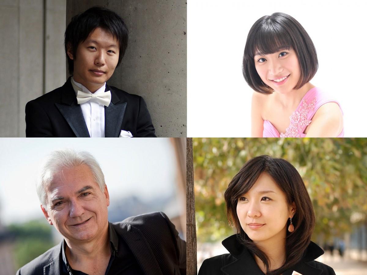 (写真左上から時計回りに)木許さん、黒木さん、大橋さん、ギャルドンさん