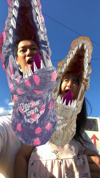 福井の観光地域づくり法人がインスタAR 「恐竜のまち 勝山」認知向上に期待込め