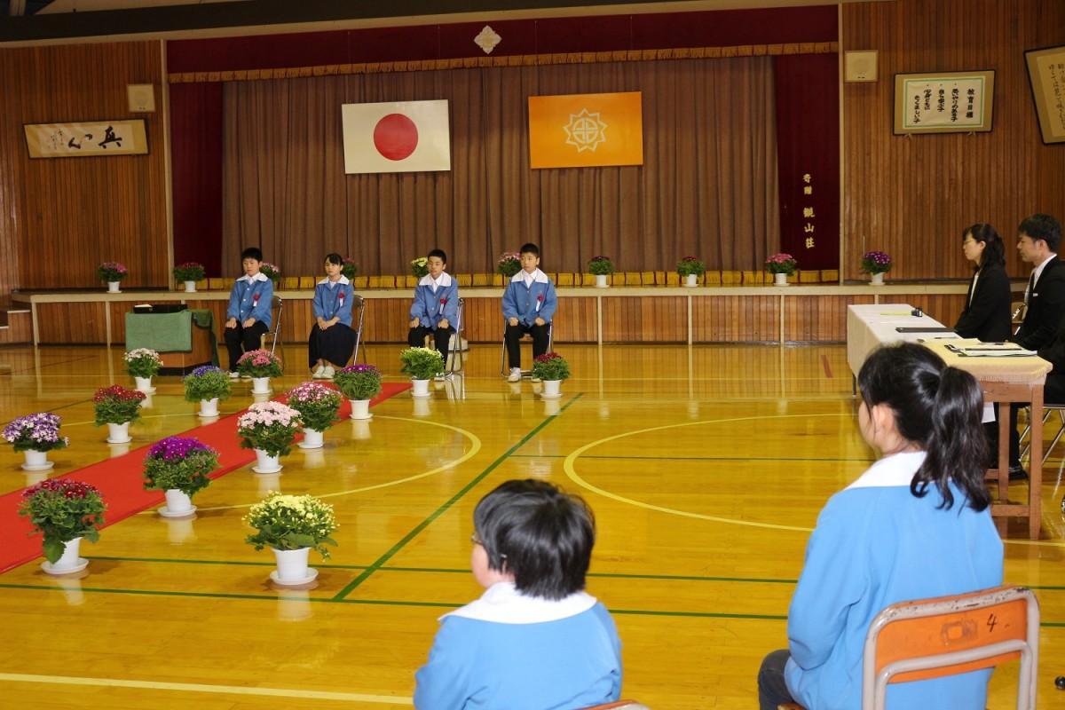 平成最後の卒業式を迎えた卒業生