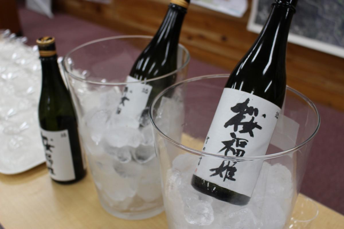 フルーティーな香りが強い生酒「桜福姫」