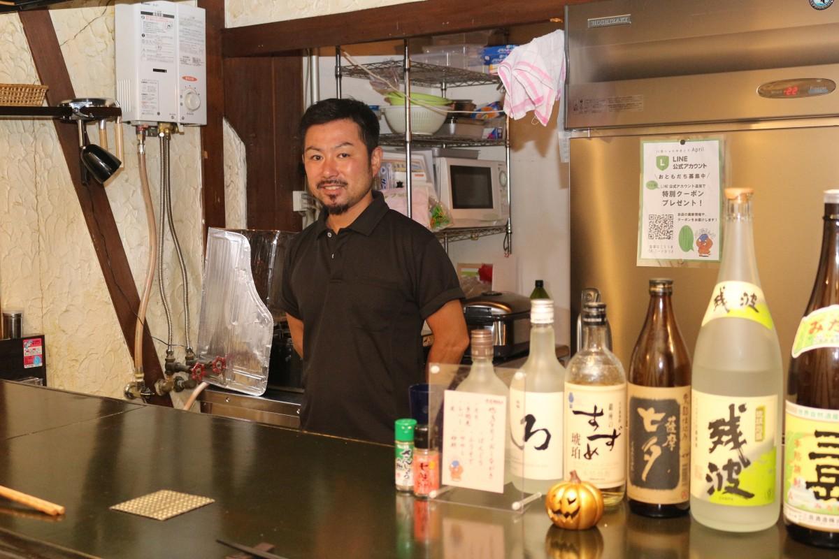 「ぜひ川俣シャモを食べに来てください」と店長の古関清人さん