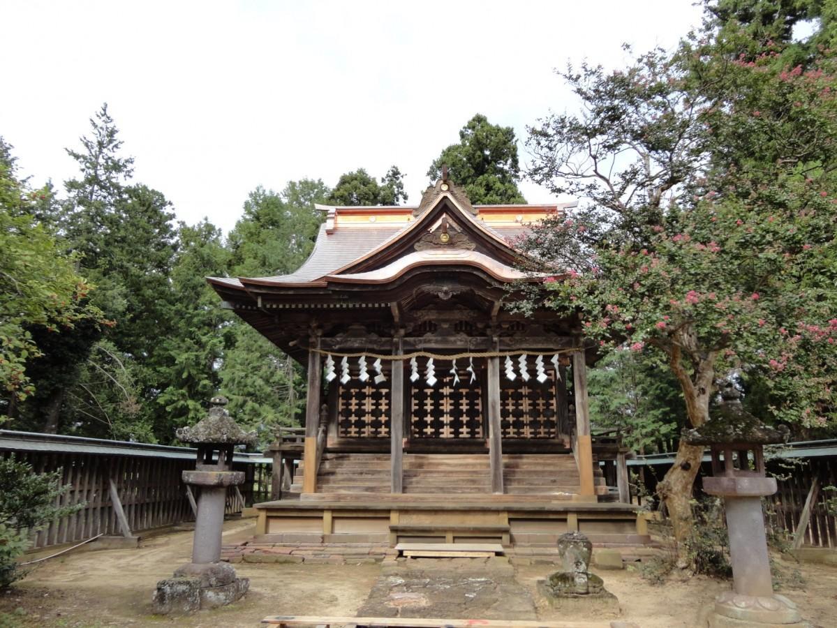 約2年半に及ぶ修復工事を終え、完成した本殿