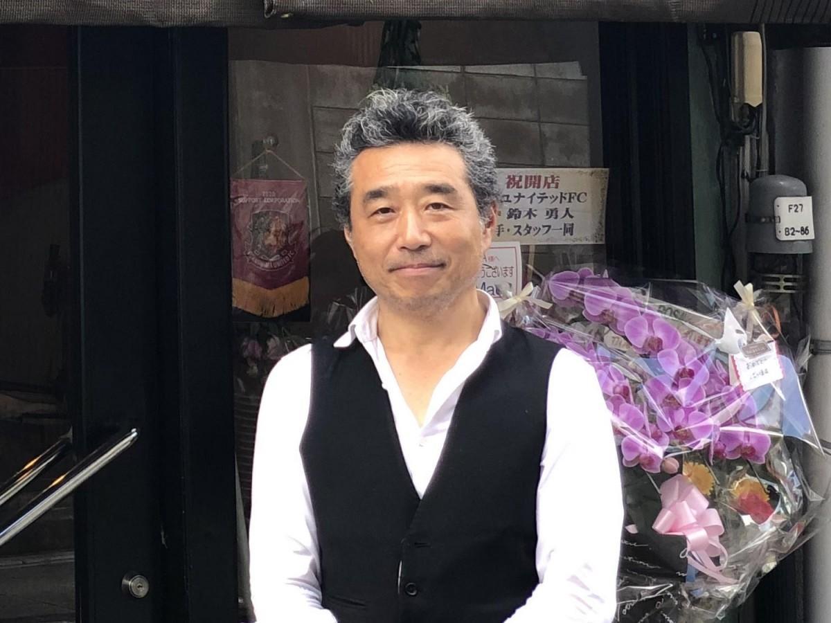 「福島のためにできることをしたい」と話す店主の小林正喜さん