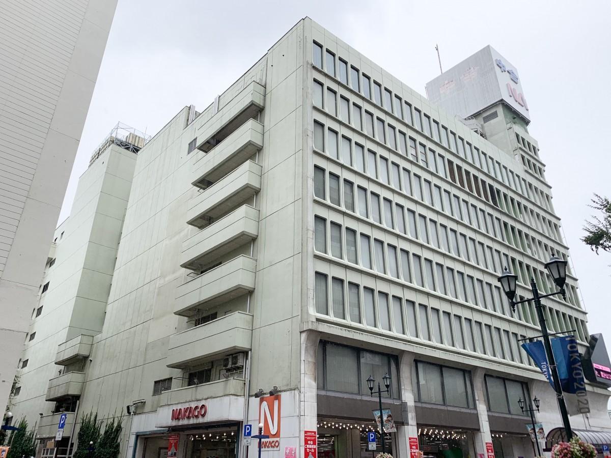 8月31日で閉店した「中合福島店」