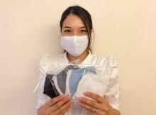 伊達のニット製造会社が「冷感マスク」発売 コロナ禍受注減で新商品