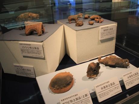 飛ノ台史跡博物館の1階と3階展示スペースを使った企画展