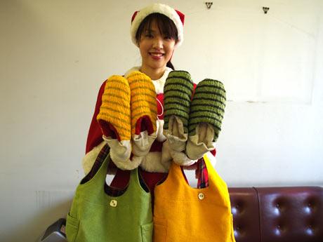 船橋産野菜とコラボの「メリッパ」と「カジュアルバッグ」