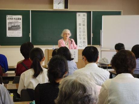 童話作家の角野栄子さん