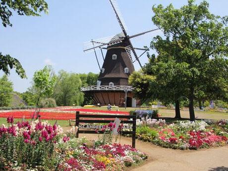アンデルセン公園の景観