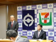 船橋市とセブンイレブンがシニアの雇用促進で協力 東日本では初めての事例