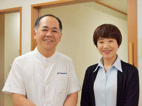 玉元院長と尾﨑さん