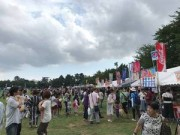 恒例の陸上自衛隊習志野駐屯地「夏まつり」 約8万人来場、花火も