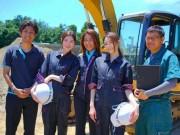 船橋の建設会社が女子向け作業ブランド「けんせつ姫」 現場女子心くすぐる