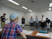 船橋で映画「きらきら眼鏡」市民オーディション 原作者の森沢明夫さんも来場