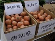 船橋市場で「安心安全・地産地消」をテーマに展示会 北海道津別の玉ネギも