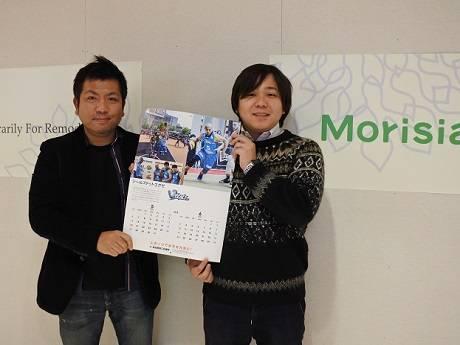 左から、SEALS.EXE運営会社シールズの奥園康志社長、福田広樹さん