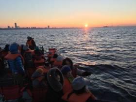 船橋港で初日の出クルーズ 漁師の棟梁率いる「ベイプランアソシエイツ」主催