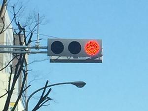 最新式小型LEDモデル信号機